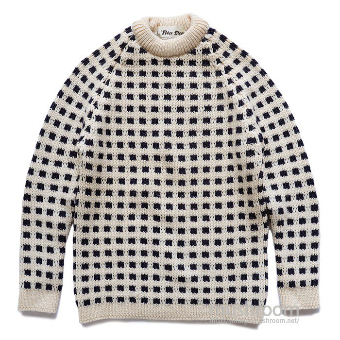 PETER STORM TWO-TONE SWEATER