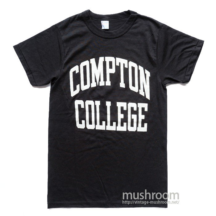 CHAMPION COLLEGE T-SHIRT( BLACK COLOR )