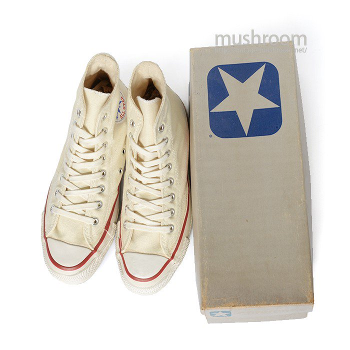 CONVERSE ALL-STAR HI  CANVAS SHOES( 7/DEADSTOCK )