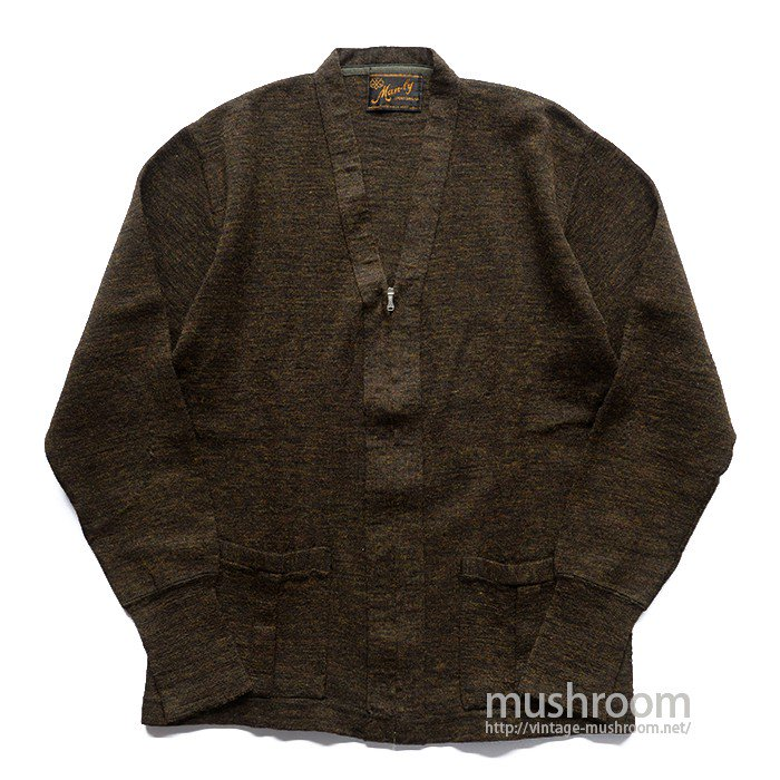MAN-BY SPORTSWEAR WORK CARDIGAN( MAYBE..DEADSTOCK )