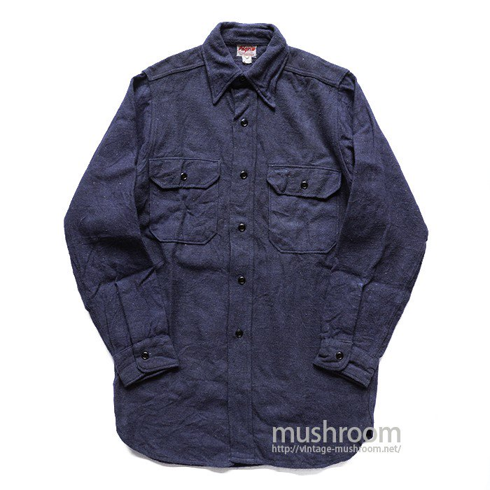 PILGRIM PLAIN FLANNEL SHIRT( MINT )