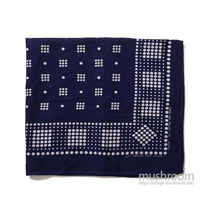 OLD TOWER POLKA DOT BANDANA( MAYBE..DEADSTOCK )