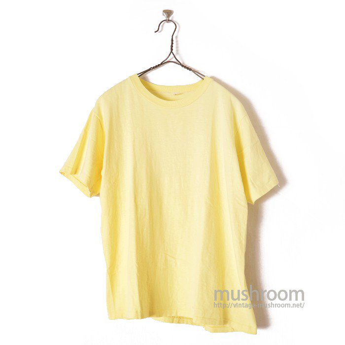 J.C.PENNEY PLAIN COTTON T-SHIRT