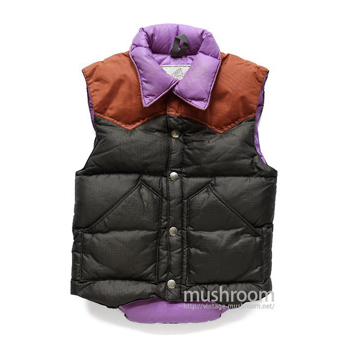POWDERHORN DOWN VEST( KID'S SIZE )