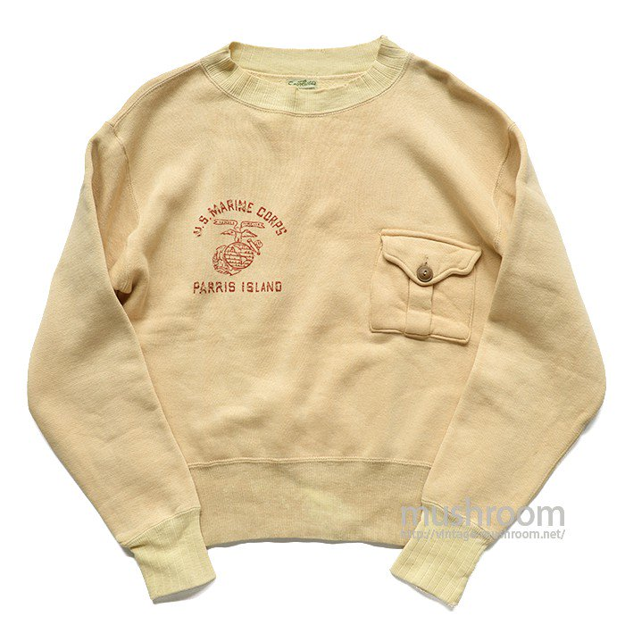 U.S.MARINE CORPS ONE POCKET SWEAT SHIRTS