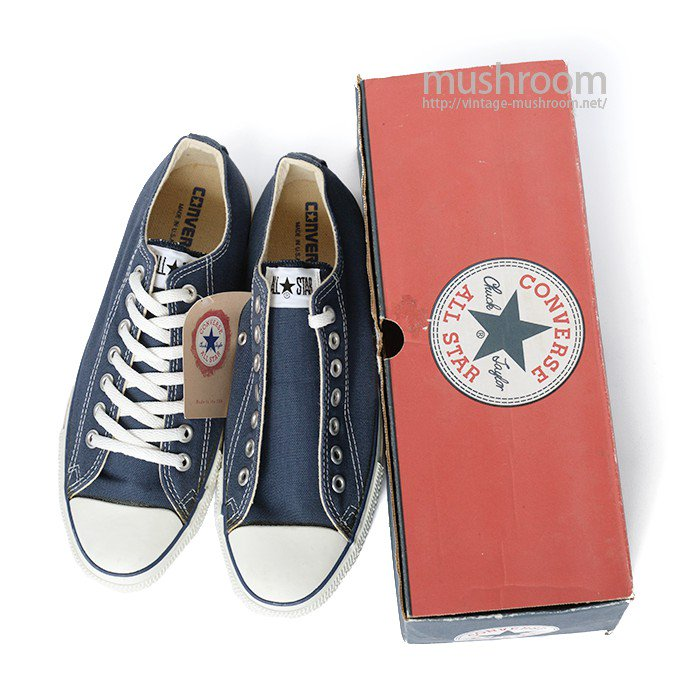 CONVERSE ALL-STAR LO CANVAS SHOES( 8 1/2/DEADSTOCK )
