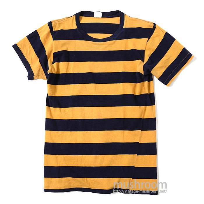 PENNLEIGH BORDER STRIPE COTTON T-SHIRT