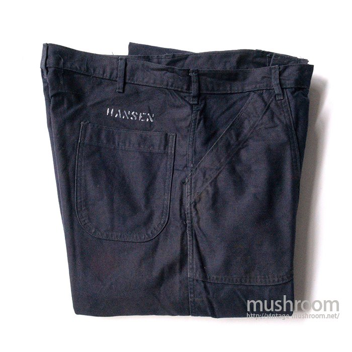 U.S.NAVY UTILITY COTTON TROUSERS( 36-XL )