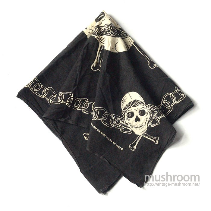 OLD SKULL COTTON BANDANA