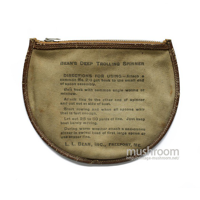 L.L.BEAN UTILITY CANVAS PURSE