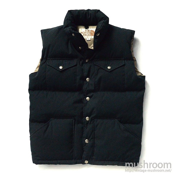 THE NORTH FACE DOWN VEST( BLACK COLOR )