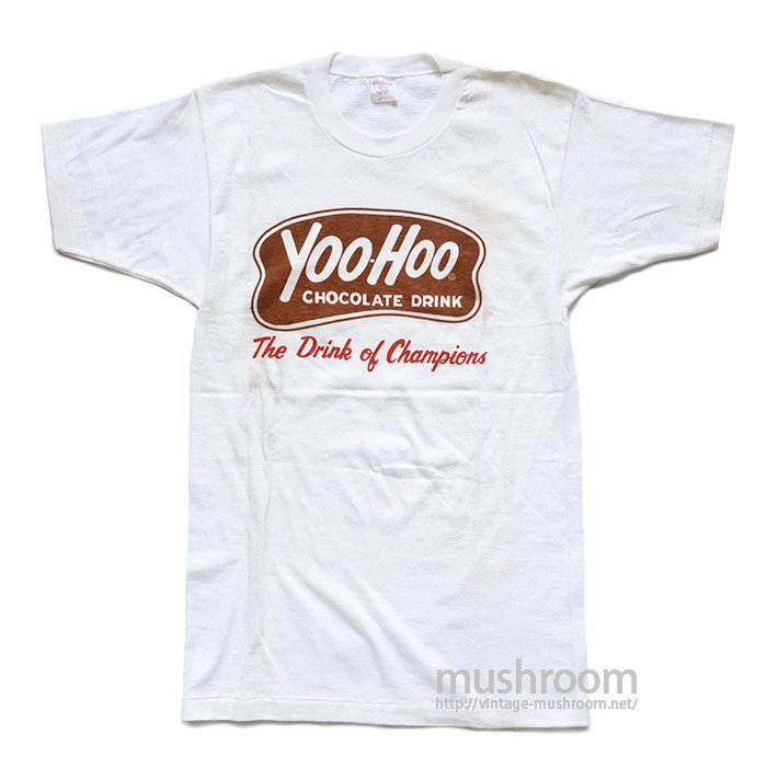 CHAMPION YOO-HOO T-SHIRT( M/DEADSTOCK )