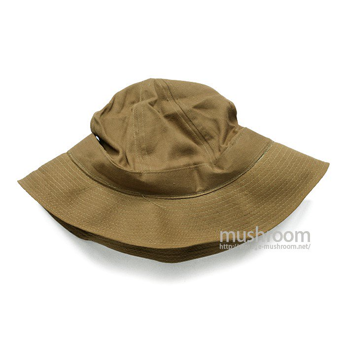 WW1 BROWN COTTON OUTDOOR HAT( DEADSTOCK )