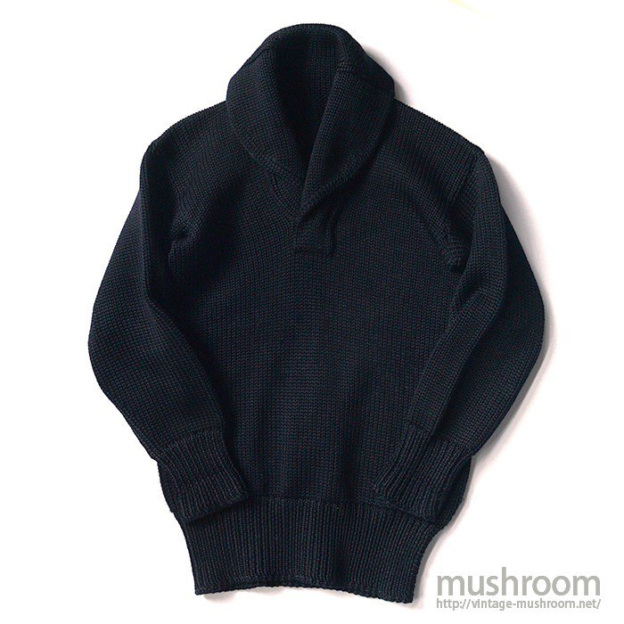 OLD DARK NAVY SHAWLCOLLER SWEATER