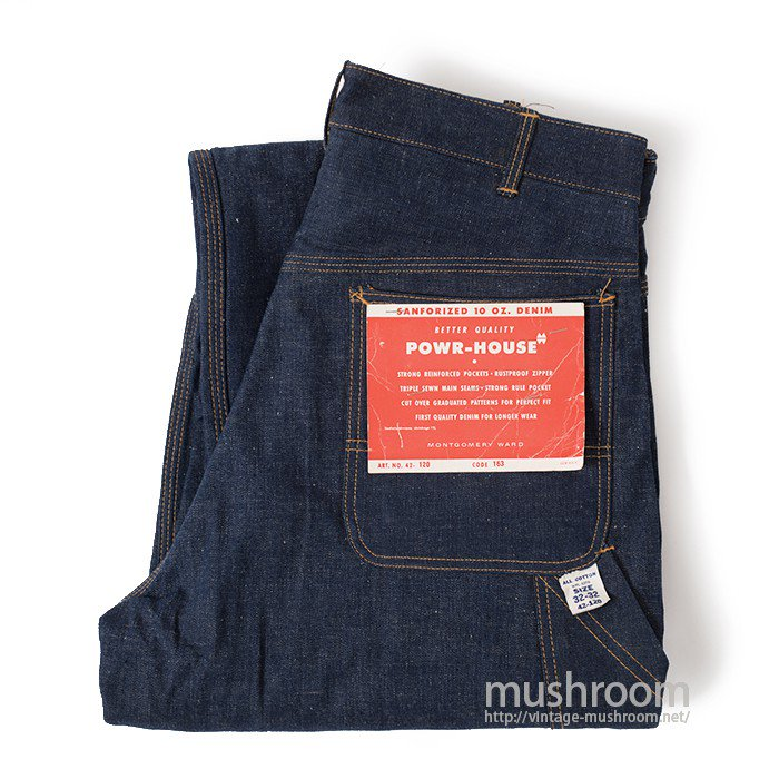 POWRHOUSE DENIM PAINTER PANTS( W32/L32/DEADSTOCK)