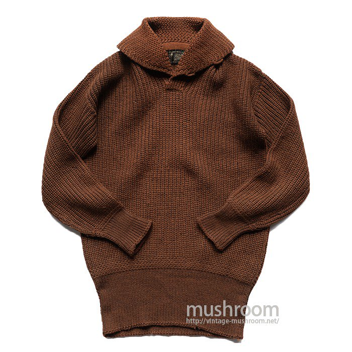 PATRICK DULUTH SHAWLCOLLER SHAKER SWEATER