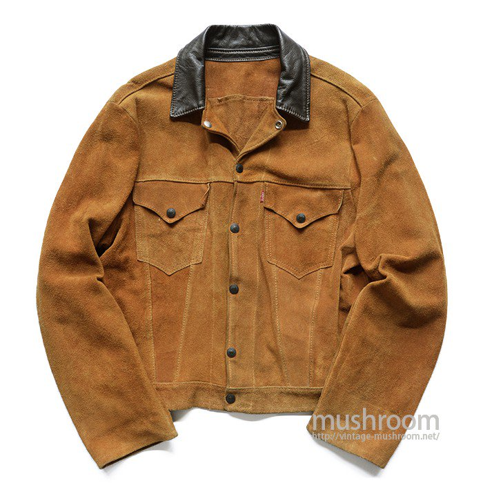 LEVI'S SHORTHORN SUEDE JACKET( 42/MINT )