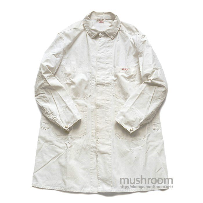 WEARWELL WHITE CANVAS SHOP COAT