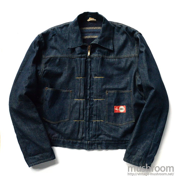 MW101 DENIM JACKET( 46/NON-WASHED )