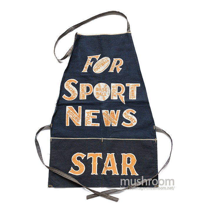 STAR NEWSPAPER COMPANY COTTON TWILL APRON