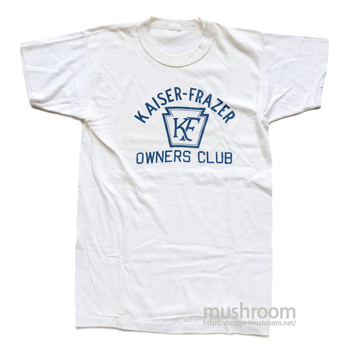 KAISER-FRAZER OWNERS CLUB T-SHIRT( DEADSTOCK )