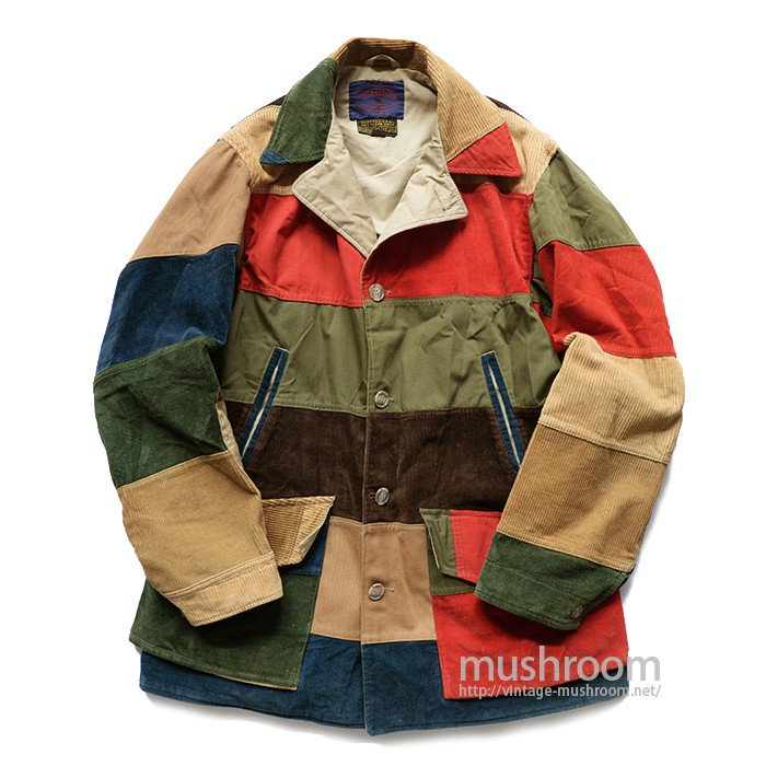 JAMES PATCHWORK HUNTING JACKET