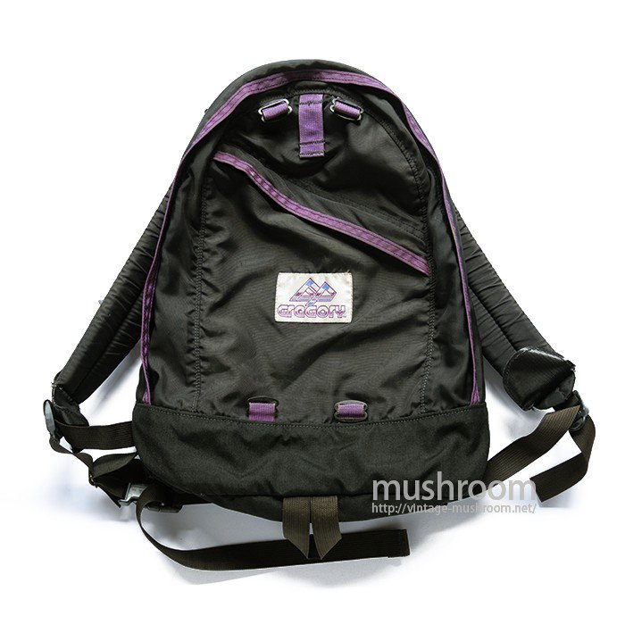 OLD GREGORY  DAYPACK( BLACK&PURPLE )