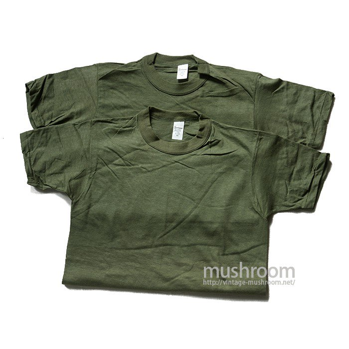 SPORTSWEAR ALL COTTON PLAIN T-SHIRT( 2SET/M/DEADSTOCK )