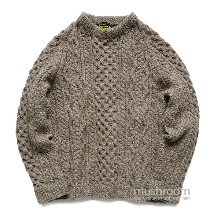 PRINCE OF BURREN FISHERMAN SWEATER