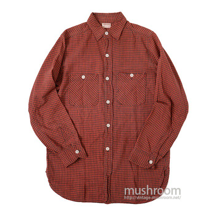 HERCULES PLAID COTTON WORK SHIRT
