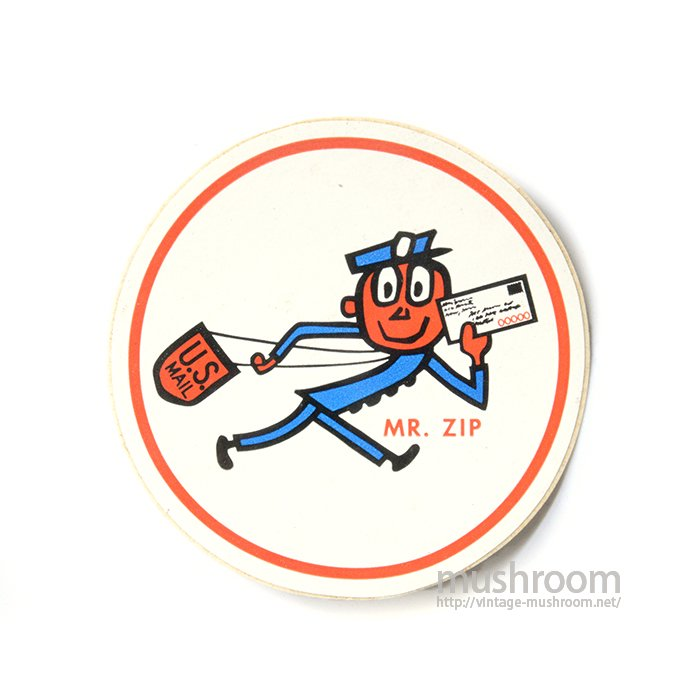 MR.ZIP DECAL STICKER( DEADSTOCK )