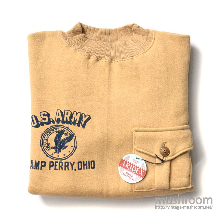 U.S.ARMY SWEAT SHIRT WITH POCKET( 42/DEADSTOCK )