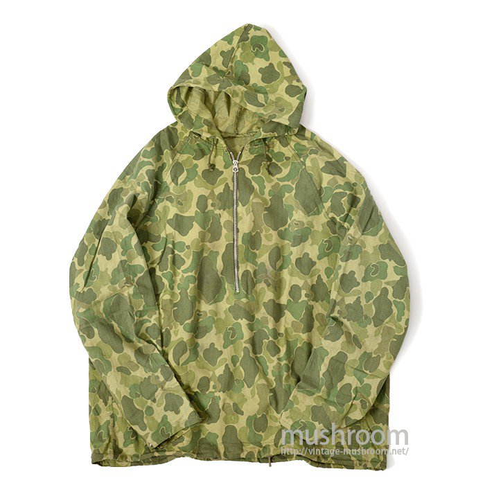 DUCKHUNTER CAMO PATTERN COTTON PULLOVER PARKA
