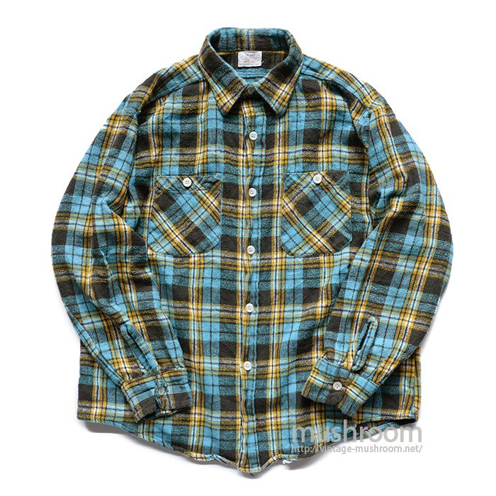 SEARS PLAID FLANNEL SHIRT