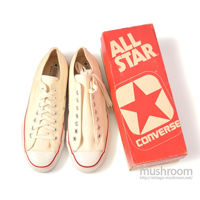 CONVERSE ALL-STAR LO CANVAS SHOES( 11/DEADSTOCK )