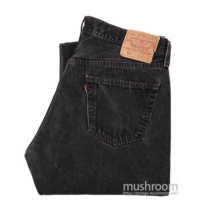 LEVI'S 501 BLACK JEANS( W36/L32 )
