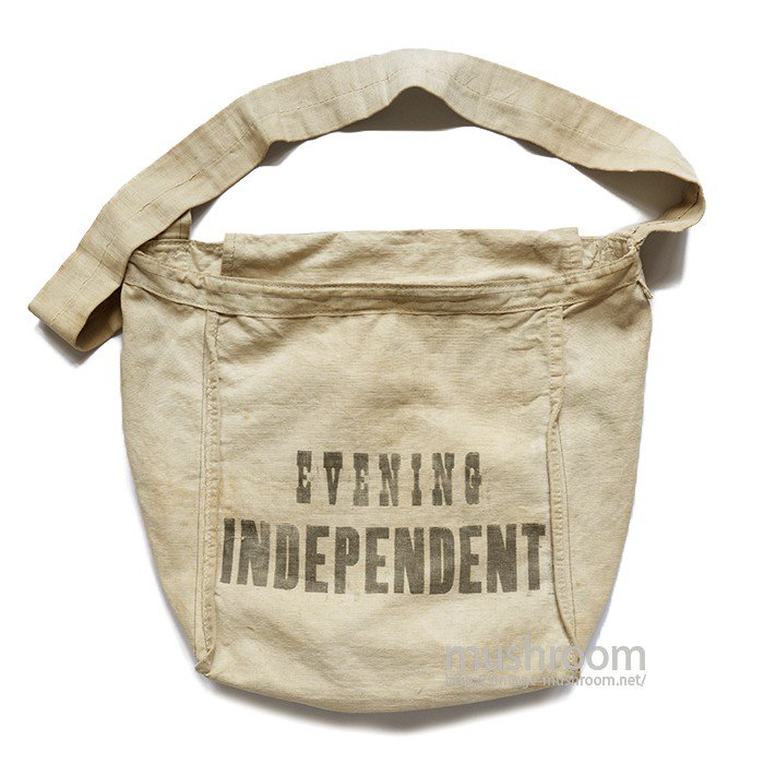 EVENING INDEPENDENT REVERSIBLE NEWSPAPER BAG