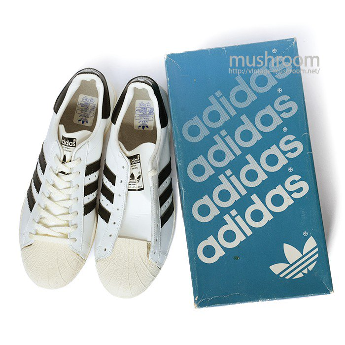 ADIDAS SUPER STAR SHOES( 8 1/2/DEADSTOCK )