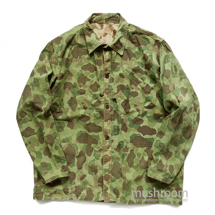 USMC DUCK HUNTER CAMO HBT JACKET( MINT )