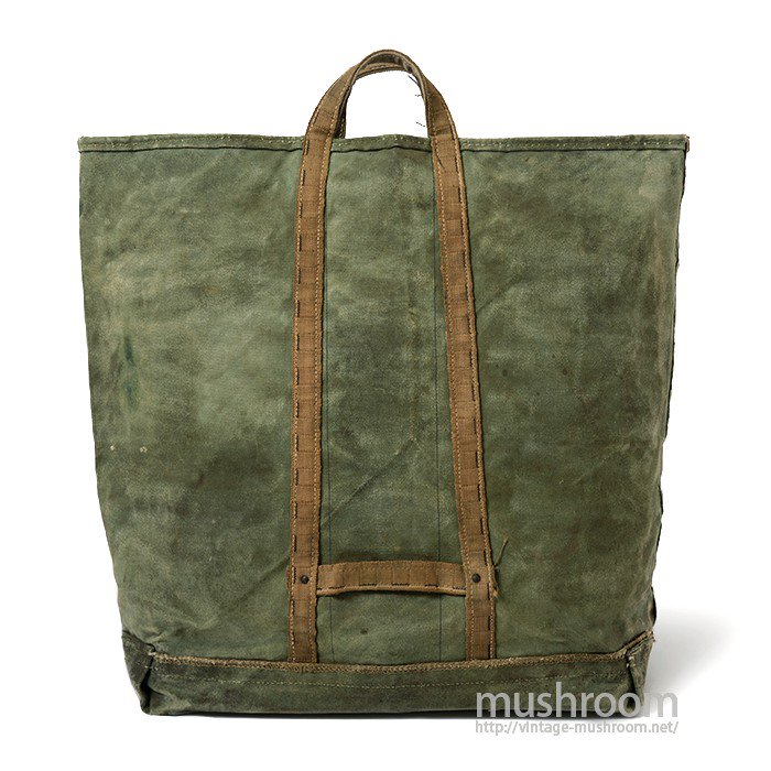 TWO-TONE CANVAS COAL BAG
