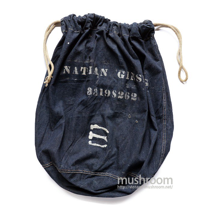 U.S.MILITARY DUNGAREE DENIM BARRACKS BAGS