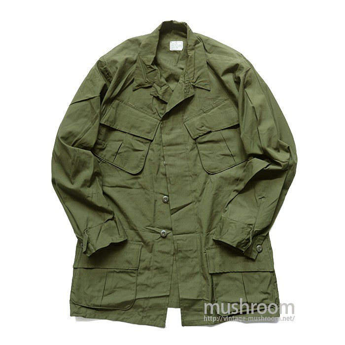 U.S.ARMY JUNGLE FATIGUE JACKET( S-LONG/DEADSTOCK  )