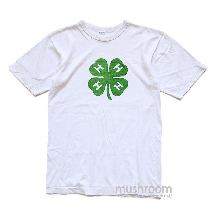 CHAMPION FOUR-LEAF CLOVER PRINT T-SHIRT