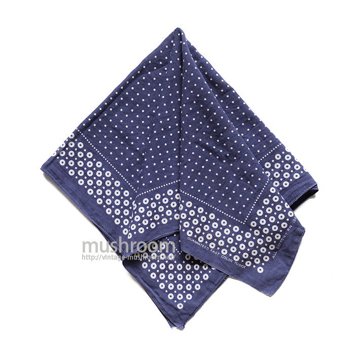OLD TUSIDE POLKA DOT BANDANA
