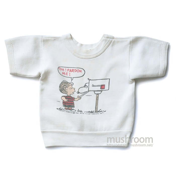 SNOOPY SHORT-SLEEVE SWEAT SHIRT