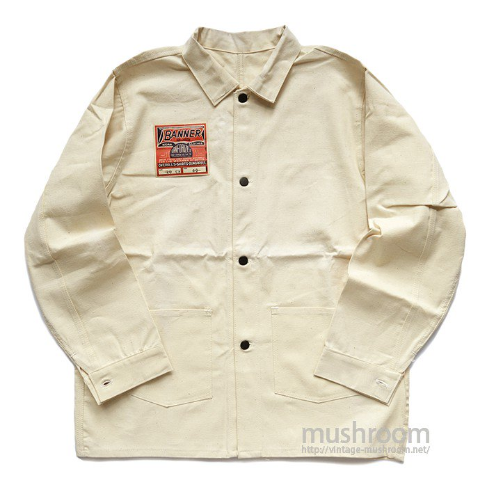 WW2 BANNER COTTON COVERALL( 40/DEADSTOCK )