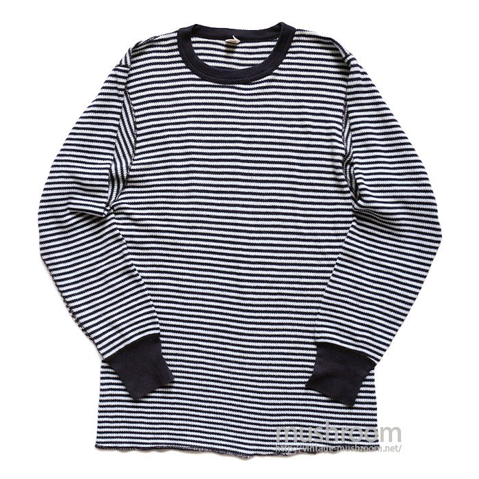 HANES BORDER STRIPE THERMAL
