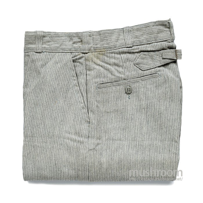 Lee STRIPE COTTON TROUSER( DEADSTOCK )