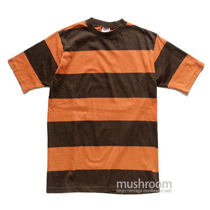 GRANTS WIDE BORDER STRIPE T-SHIRT( M/DEADSTOCK )
