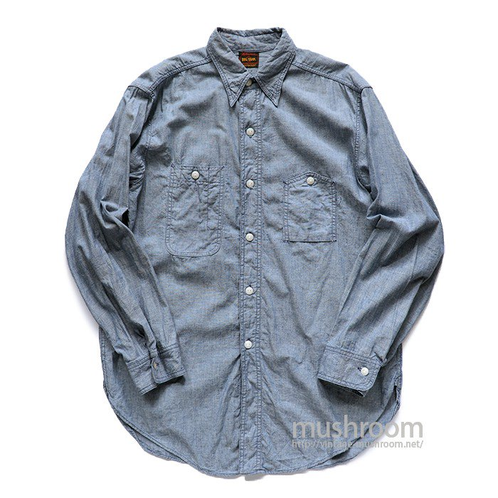 BIG YANK CHAMBRAY WORK SHIRT( MINT )